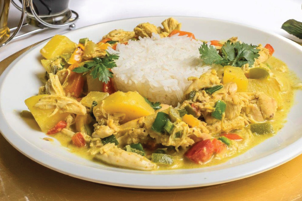 Thai Style Chicken Curry
