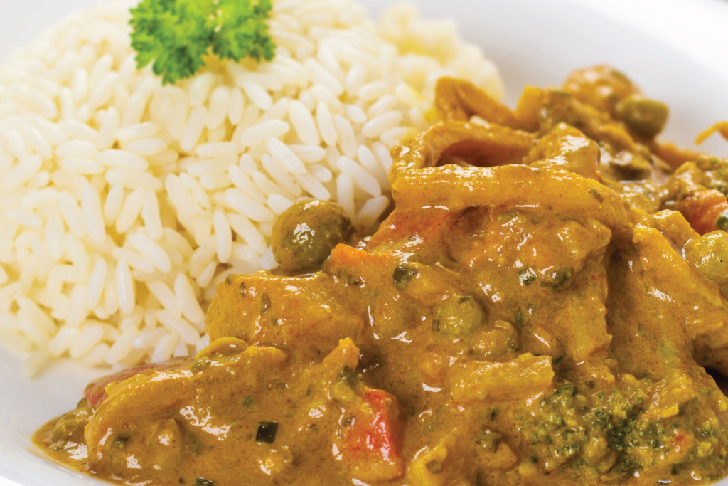 Vegetable Curry (V)
