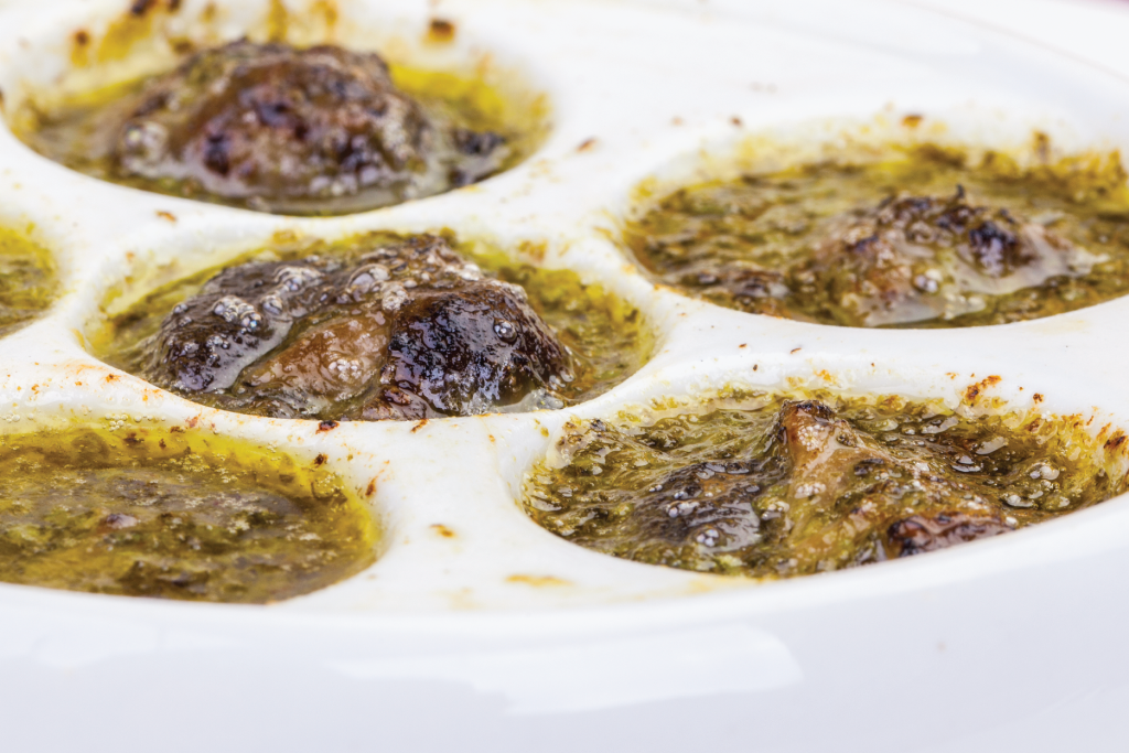 Creamy Garlic Snails