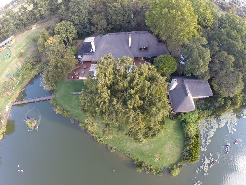 Aerial View of The Fat Olive